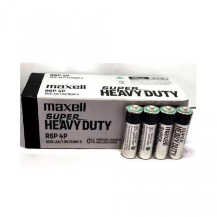 Maxell AA size 1.5V Super Heavy Duty 4pcs shrink - R6P(SP)4P