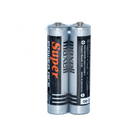 Maxell AAA size 1.5V Super Heavy Duty 2pcs shrink - R03(AB)2P