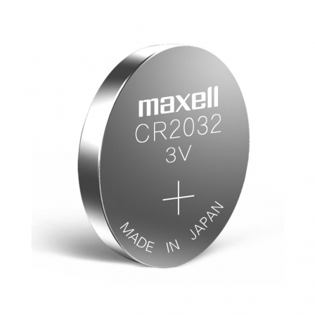 Maxell 3V Lithium CoinCell 5-pcs card (CR2032-B5)